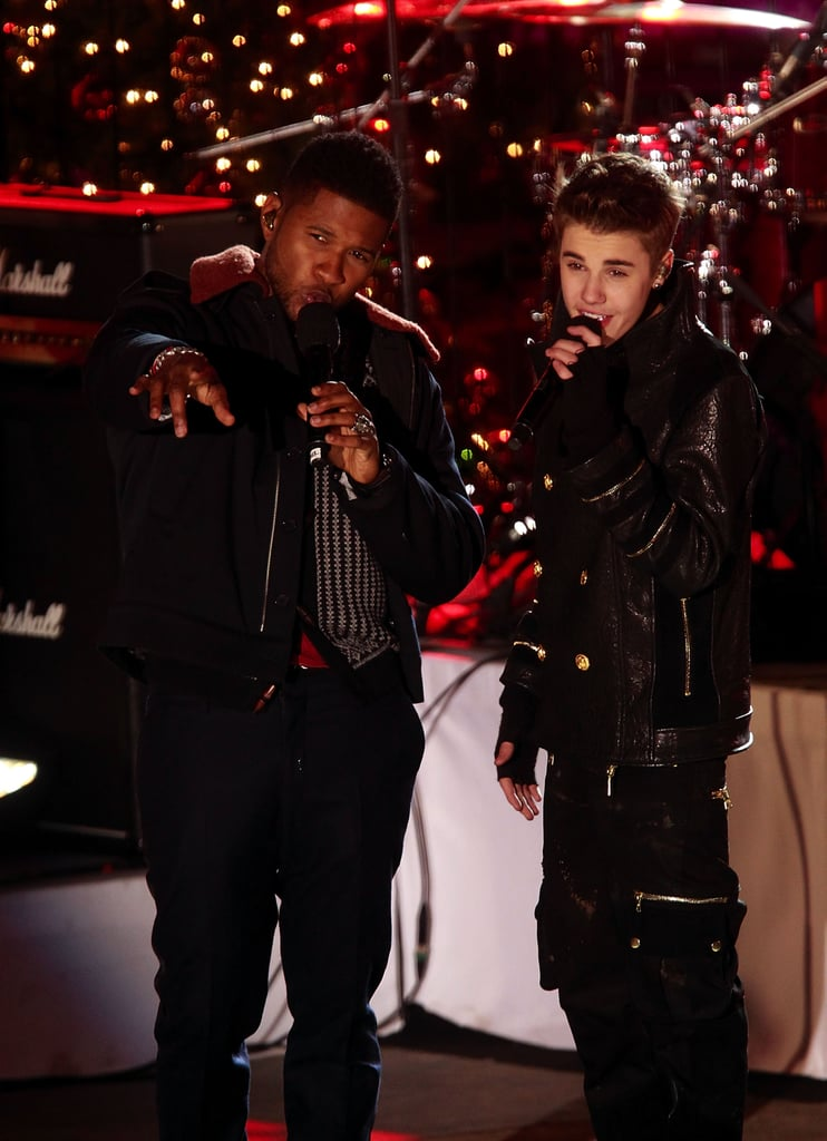 Usher and Justin Bieber, 2011