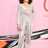 Brooke Shields at the 2019 CFDA Awards