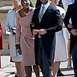 Serena Williams at the Royal Wedding 2018