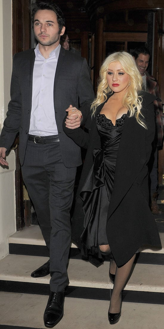 Pictures of Christina Aguilera and Matthew Rutler at ...