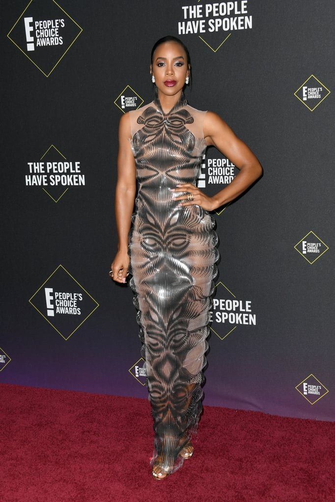 Kelly Rowland at the 2019 People's Choice Awards