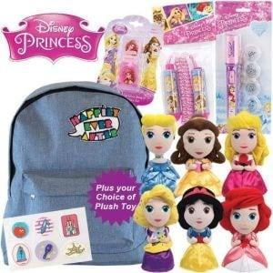 Disney Princess Showbag ($28) Includes:  Backpack  Choice of princess soft toys  Skipping rope
