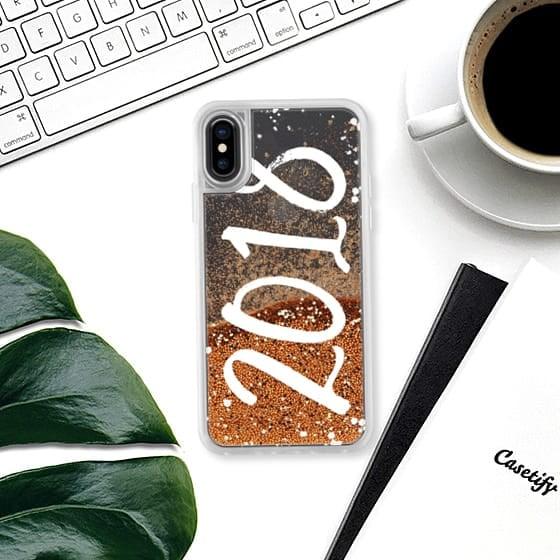 Casetify Modern 2018 Liquid Glitter Case