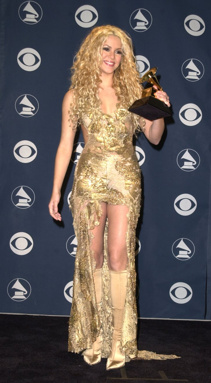 Shakira 2001 Memorable Grammy Outfits Worn By Latinas