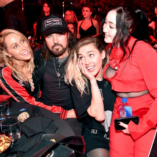 The Cyrus Family at the 2017 iHeartRadio Music Awards