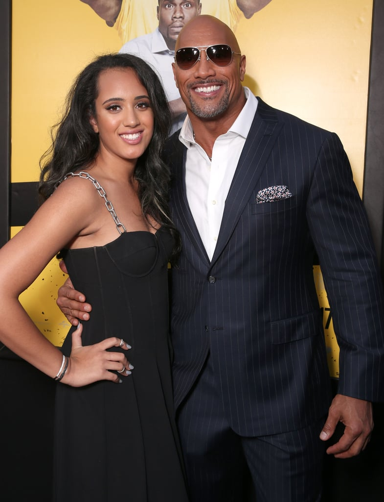 Dwayne johnson and his daughter simones cutest pictures popsugar dwayne johnson and his daughter simones cutest pictures popsugar celebrity m4hsunfo