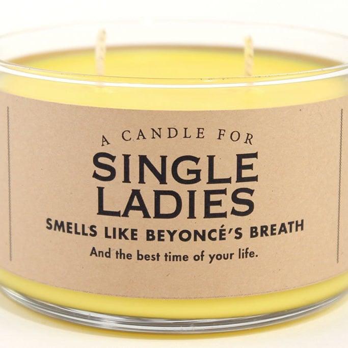 This Single Ladies Candle Smells Like Beyoncé's Breath