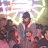 Leonardo DiCaprio at Coachella 2018