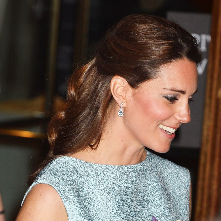 See Kate Middleton's Half-Up Hairstyle From Every Angle