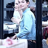 Lily Aldridge and Behati Prinsloo Out in LA March 2016