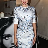 Miranda Kerr was at a Kora Organics pop up store in Sydney as part of Fashion's Night Out.