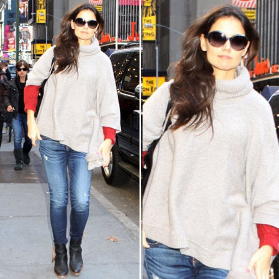 See why we're crushing on Katie Holmes's easy street style.