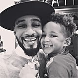 Swizz and Egypt snapped an adorable, smiley selfie together in November 2014.