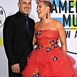 November: She and Carey Looked Like Prom Queen and King at the AMAs