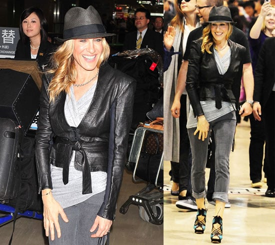 Pictures of Sarah Jessica Parker in Japan Promoting Sex and the City 2 2010-05-31 16:30:03