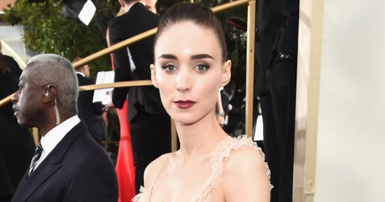 Rooney Mara Is Pretty In Pink At The Golden Globes