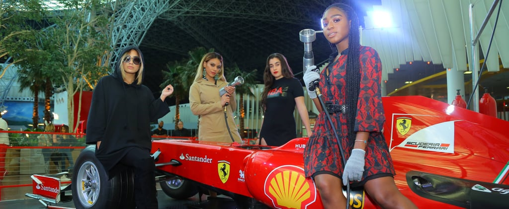 "Fifth Harmony Basically Recreated Their ""Work From Home"" Music Video at Ferrari World Abu Dhabi"