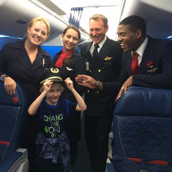 Delta Flight Attendant Befriends Boy With Autism