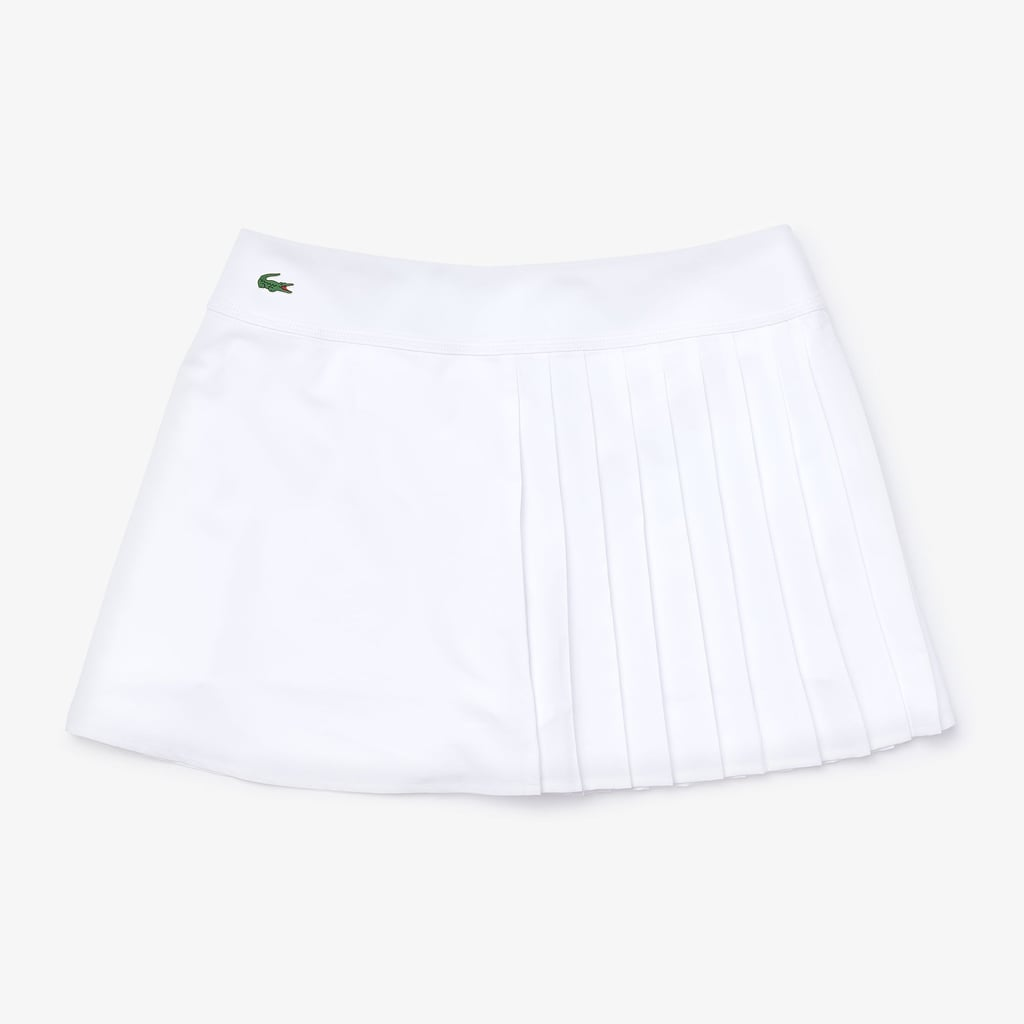 Lacoste Sport Asymmetrical Pleated Tennis Skirt