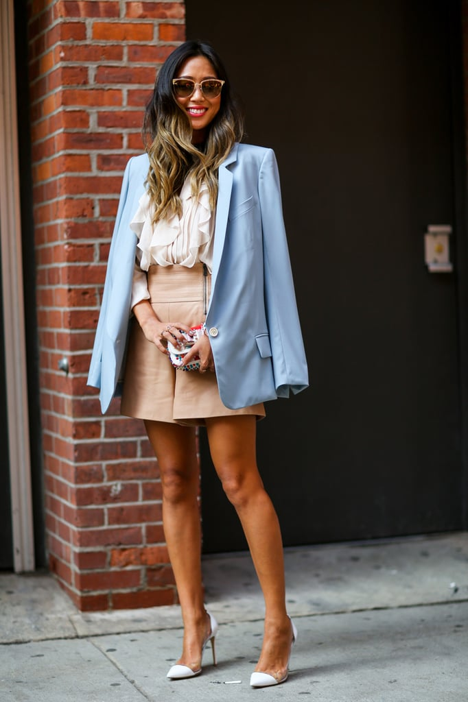 Wear A Blazer Like It 39 S Office Armour What To Wear To The Office Popsugar Fashion Australia
