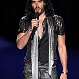 Russell Brand at the 2011 MTV VMAs.