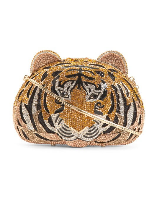 T.J.Maxx Crystal Tiger Clutch