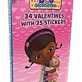 Doc McStuffins Deluxe Valentine's Day Cards With Stickers