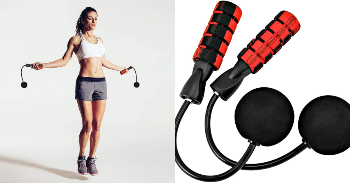If You Don't Have High Ceilings, Cordless Jump Ropes Are a Thing and Cost Under $15