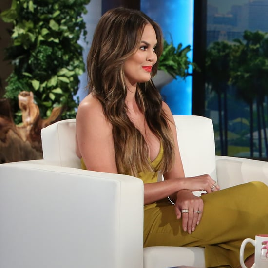 Chrissy Teigen on The Ellen DeGeneres Show October 2016