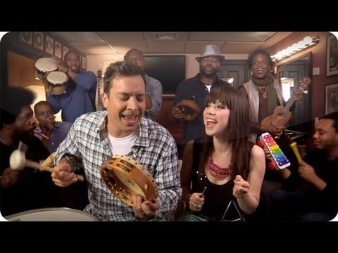 """Call Me Maybe"" With Carly Rae Jepsen and The Roots"