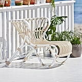 Alu-Rattan Lounge Chair