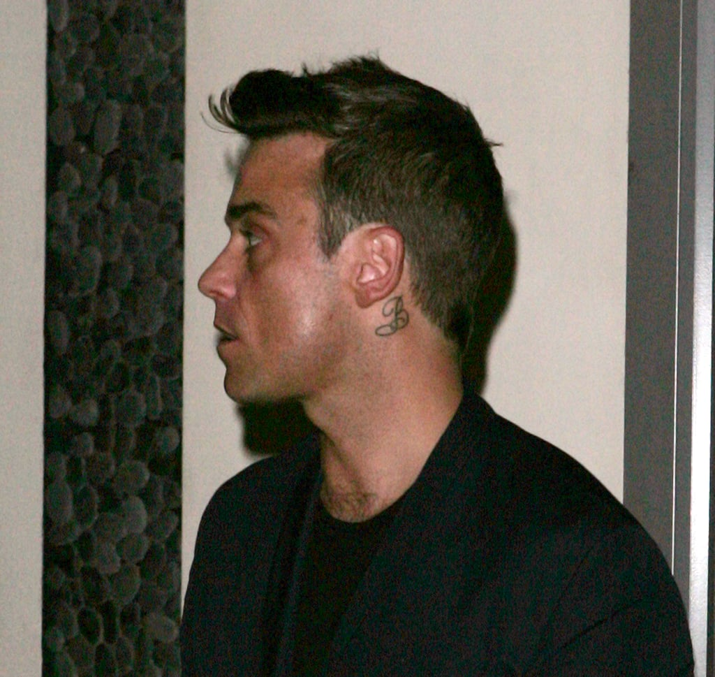 Robbie Williams In London For X Factor