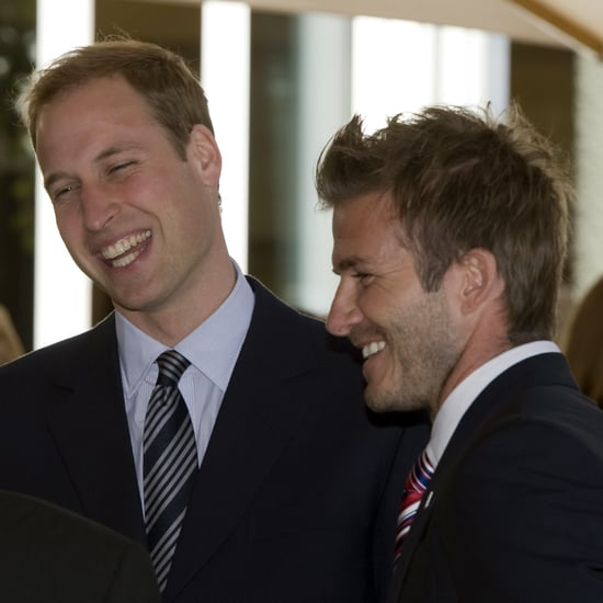 David Beckham Congratulates Prince William on Third Baby