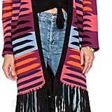 Mara Hoffman Knit Fringe Cardigan ($232)