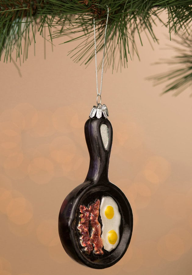 Funny Side Up Ornament ($12)