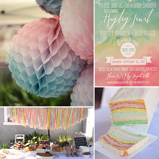 A Dreamy Watercolor-Inspired Baby Shower