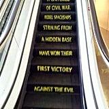 This Star Wars Escalator