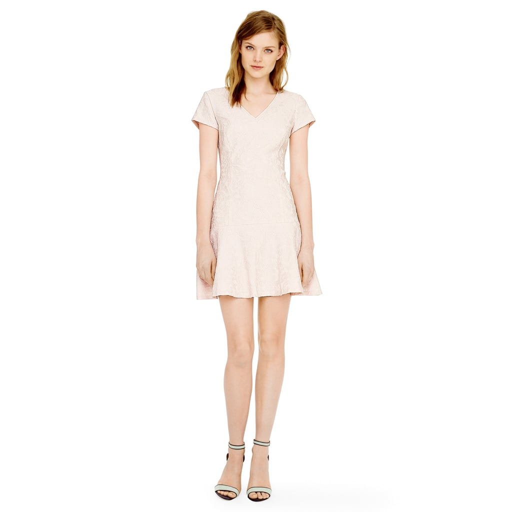 Club Monaco light-pink lace Darcia dress ($229)
