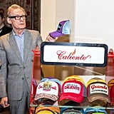 Bill Nighy tried out the Caliente caps