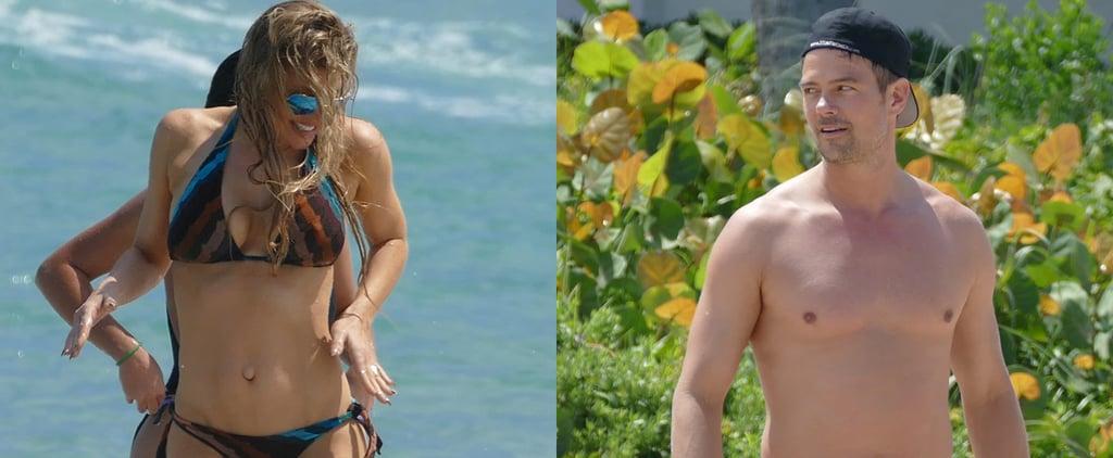 Fergie and Josh Duhamel Flaunt Their Sexy Beach Bodies in Florida