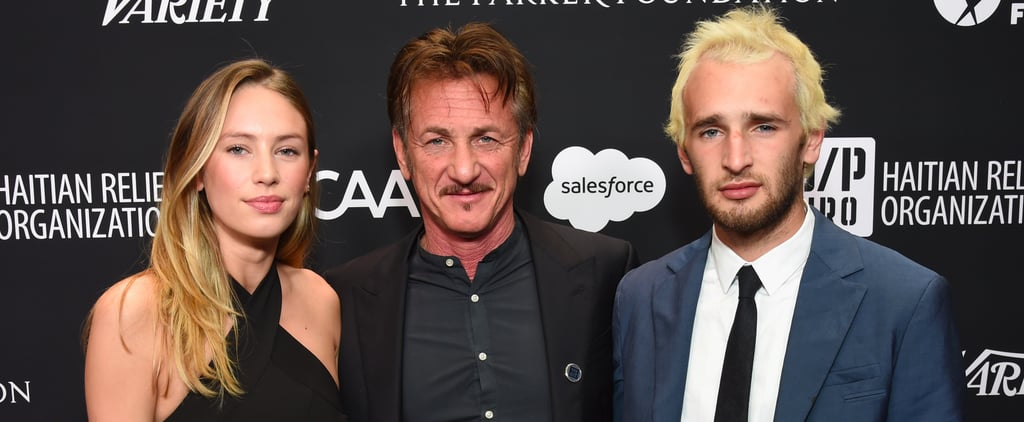 Sean Penn and His Kids at Haiti Gala 2017 Pictures