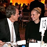 Gwyneth chatted with Warren Beatty during a Hollywood event in September 2006.