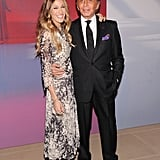 Sarah Jessica Parker and Valentino Garavani celebrated the launch of his virtual museum in NYC.