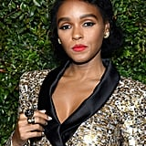 Janelle Monáe's Curly Bob Haircut in 2017