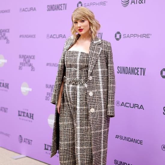 Taylor Swift's Plaid Carmen March Look at Sundance Festival