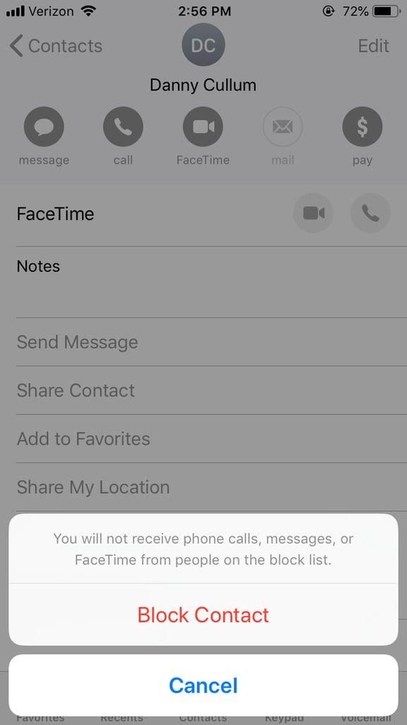 How Can I Block an Annoying Texter?