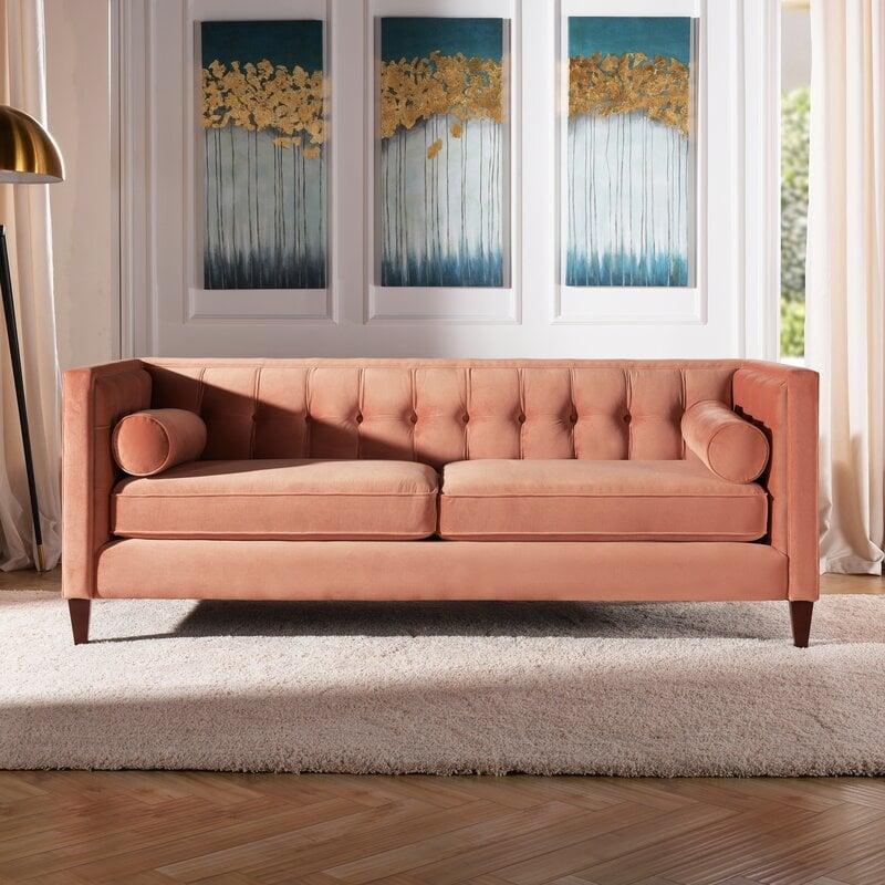 Kylie Velvet Sofa