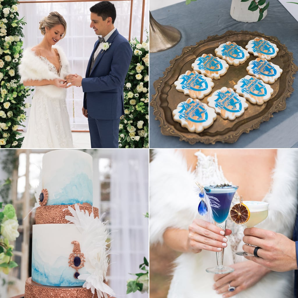 Harry Potter Ravenclaw Wedding Photos