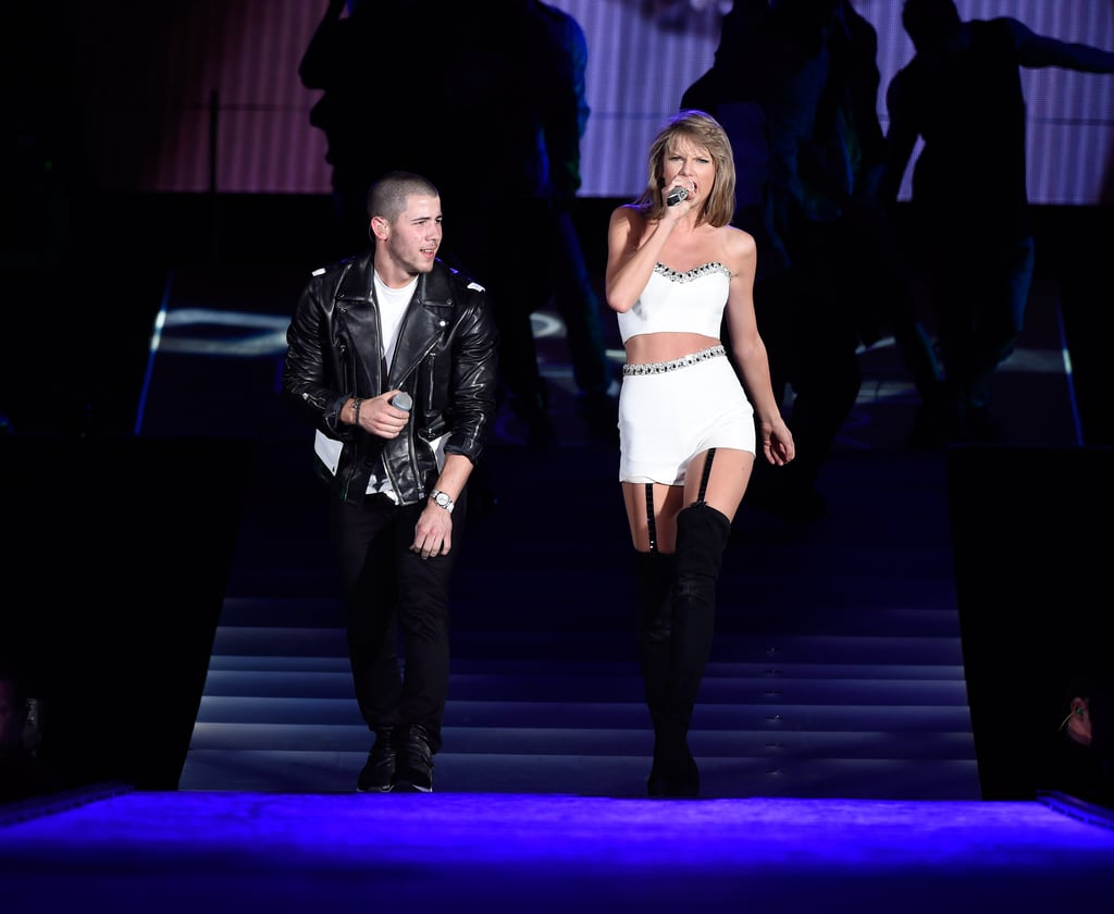 """Why Taylor Swift Felt """"All the Feelings"""" on Stage With Nick Jonas"""