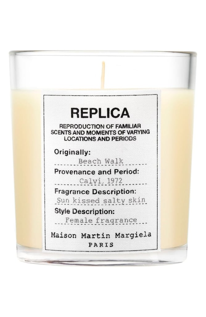 This fashion-forward Beachwalk candle ($60) promises the scent of sun-kissed, salty skin.
